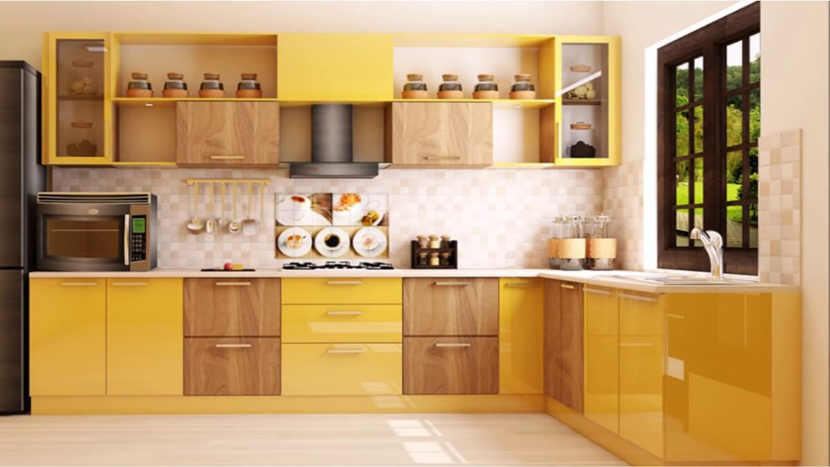 l shapped kitchens by sunrise kitchen world best in laminate shutter